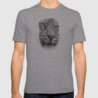 Tiger Mens Fitted Tee Tri-Grey SMALL