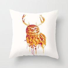 Owlope Stripped Throw Pillow