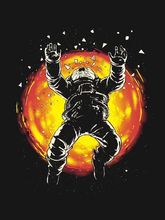 Lost in the space Art Print