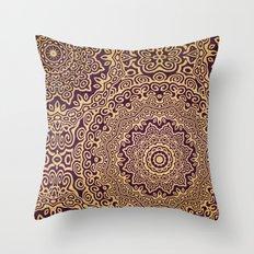 Mandala 107 Throw Pillow