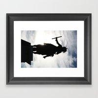 Horseman  Framed Art Print