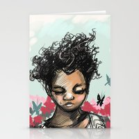 The Most Beautiful Flowe… Stationery Cards