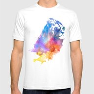 Sunny Leo   Mens Fitted Tee White SMALL