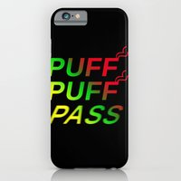 iPhone & iPod Case featuring Puff Puff Pass by Brandon Minieri