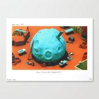 POP HELL #3 Canvas Print