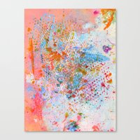 practice makes Canvas Print
