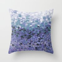 :: Purple Cow Compote :: Throw Pillow