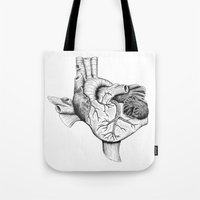 The Heart of Texas Tote Bag