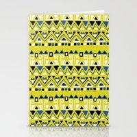 Tribal Rhythm Stationery Cards