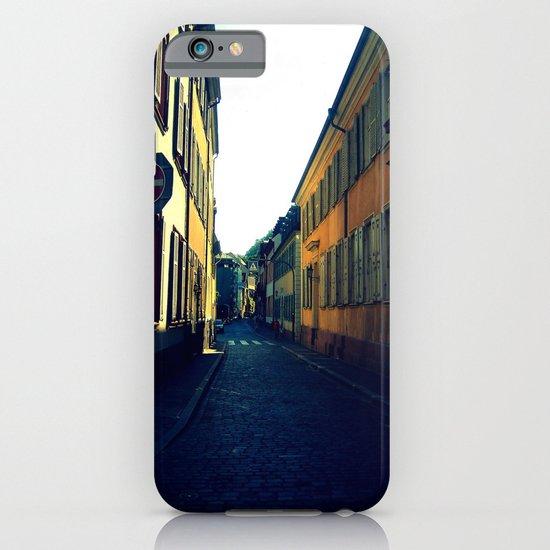 Simple Cobblestone Street. iPhone & iPod Case