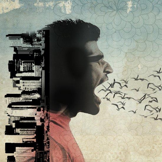 the sound of birds Art Print
