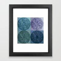 Spinnies (color Option 2… Framed Art Print