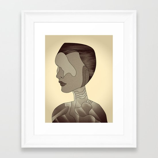 W.I. Framed Art Print
