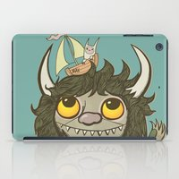 An Ode To Wild Things iPad Case