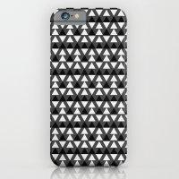 Black & White Triangles iPhone 6 Slim Case