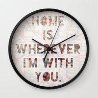 HOME (Ohio) Wall Clock