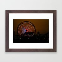 sta monica Framed Art Print