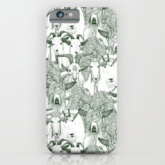 just goats dark green Slim Case iPhone 6s