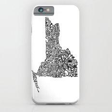 Typographic New York Slim Case iPhone 6s