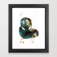 UNREAL PARTY 2012 THE AMAZING SPIDEY SPIDERMAN Framed Art Print