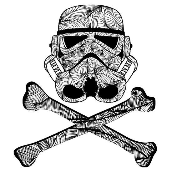 Skulltrooper Canvas Print