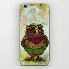 Owly iPhone & iPod Skin