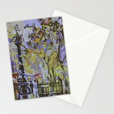 paint by numbers pattern Stationery Cards