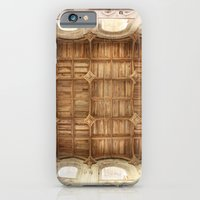 iPhone & iPod Case featuring Wooden church ceiling  by Regal Definition