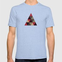Oh Christmas Tree Mens Fitted Tee Tri-Blue SMALL