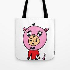 Angry Teddy Bear Baby Tote Bag
