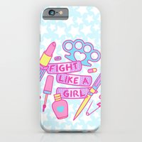 Girl Fighter iPhone 6 Slim Case