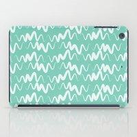 Acqua Line iPad Case