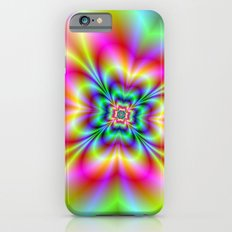 Psychedelic Four Leaf Clover  iPhone 6s Slim Case