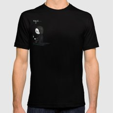 Always... Black Mens Fitted Tee SMALL