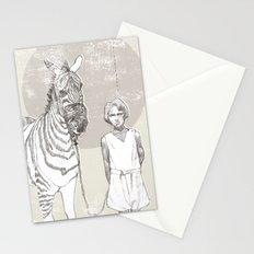My Pet Zebra Stationery Cards