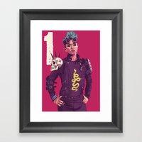 80/90s - Oba Framed Art Print