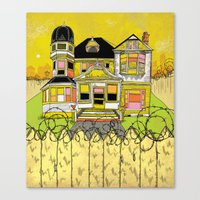 Your Home Is Your Castle Canvas Print