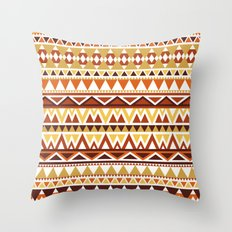 Aztec 1 Throw Pillow