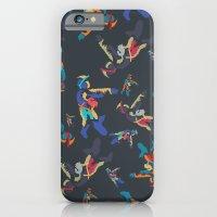 Colourful Astronaut iPhone 6 Slim Case