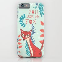 iPhone & iPod Case featuring You are my Fox by Poppy & Red