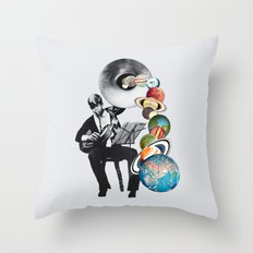 DMT Elf Throw Pillow
