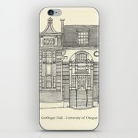 Gerlinger Hall iPhone & iPod Skin