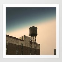 Tower Over Me Art Print