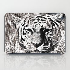 Tiger BW iPad Case