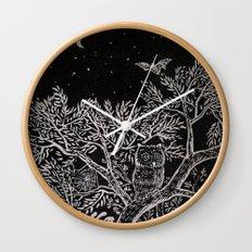 The night Wall Clock