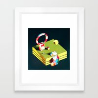 Much Ado in Candyland IRLRTS edition Framed Art Print