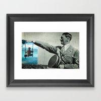 Scream If You Want To Go… Framed Art Print