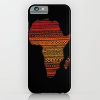 iPhone & iPod Case featuring AFRIKA by RAIKO IVAN雷虎