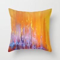 The Bar Is Called Heaven… Throw Pillow