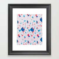 Cubicle Framed Art Print